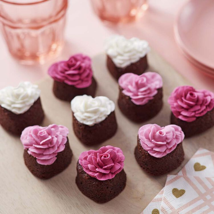 Everything's Coming Up Roses Brownies