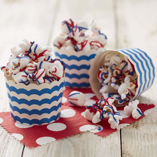 Wilton Firecracker, Red, White & Blue Popcorn