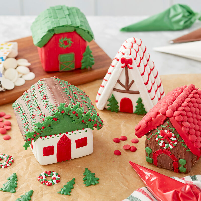 Mini Gingerbread Village with Sweet Tidings image number 0
