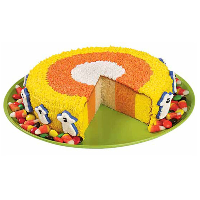 How Candy Corn is Born Cake image number 0