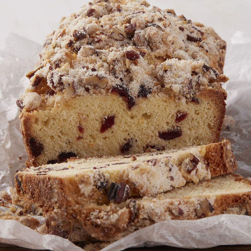 Cranberry Orange Pecan Loaf Recipe image number 0