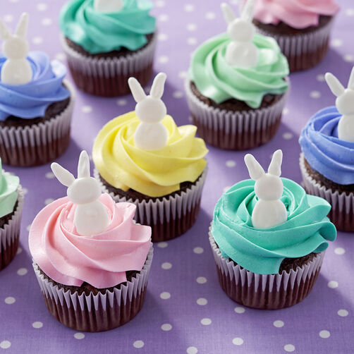Bunny Topped Cupcakes
