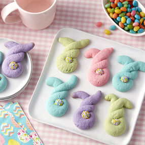 Twisted Bunny Cookies