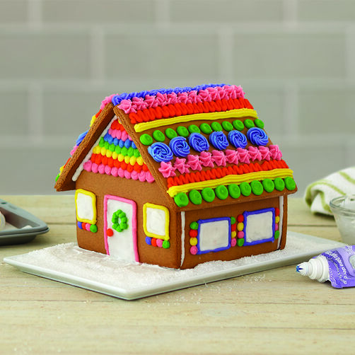 Gingerbread house makeover wilton - How to decorate my home ...