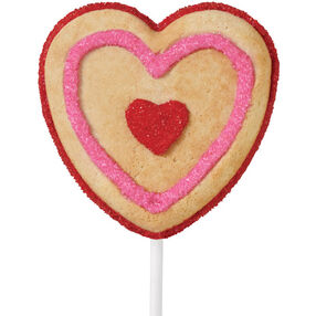 Heart Highlight Cookie Pops