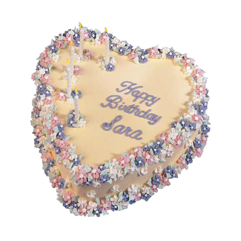 Hearts & Flowers Cake image number 0