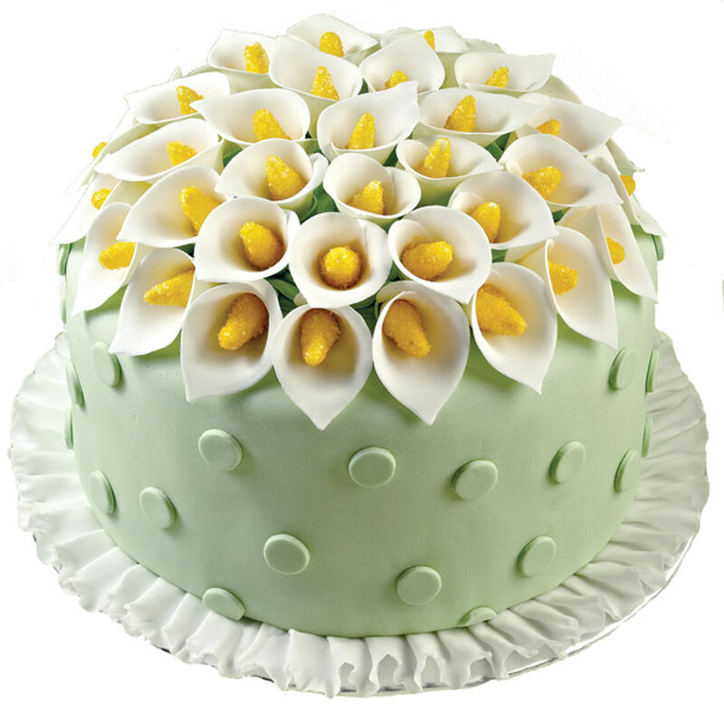 Creative Calla Lilies Cake image number 0