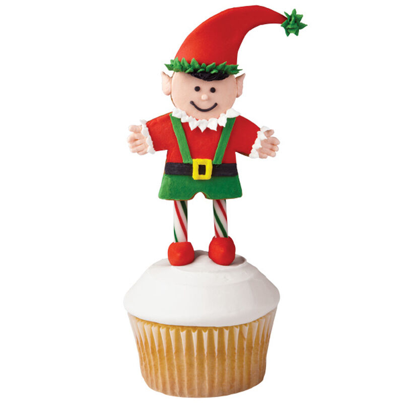 Elated it is Christmas Elf Cupcakes image number 0