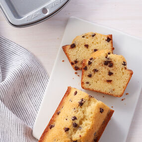 Mini Chocolate Chip Loaves Recipe