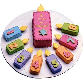 Festival of Lights Hanukkah Cake