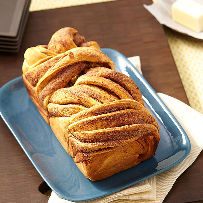 Cinnamon and Aleppo Pepper Braided Loaf Recipe image number 2