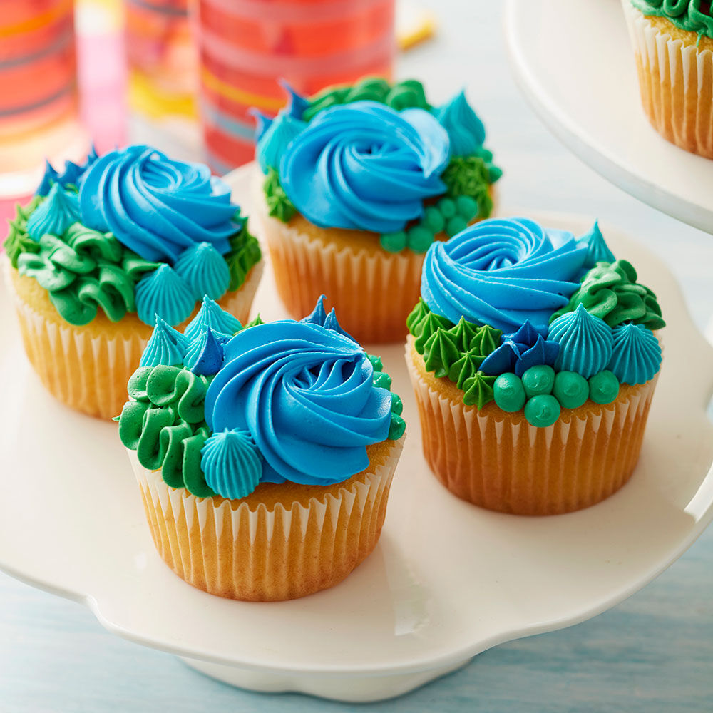 Happy Earth Day Cupcakes & Cupcake Ideas - Cupcake Decorating Ideas | Wilton