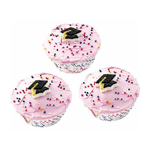 Capping Off Your Education Cupcakes
