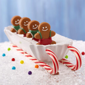 Gingerbread Boy Candy Treats