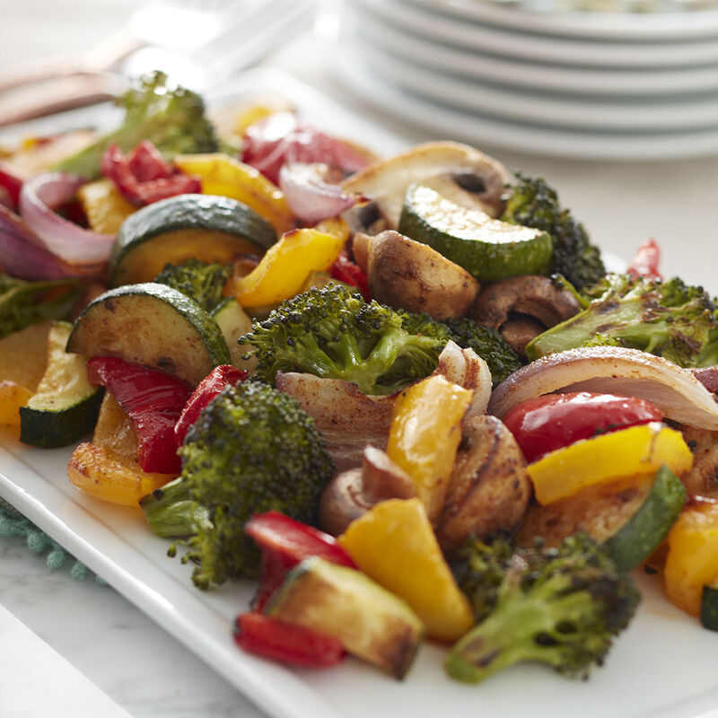 Roasted Mixed Vegetables Recipe image number 0