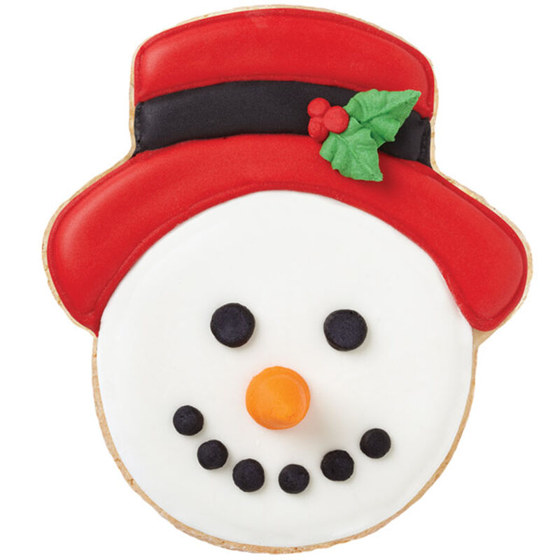 Holly Berry Snowman Cookies image number 0