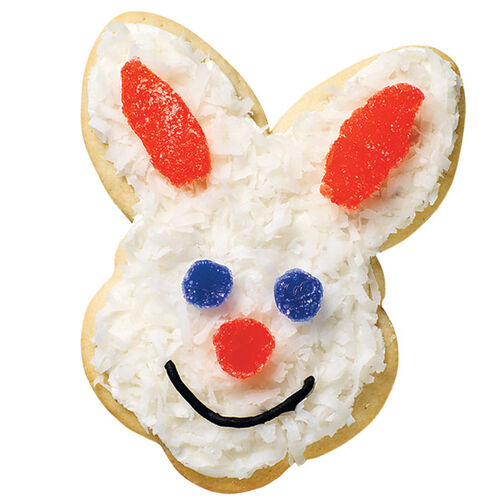 Coconut Cottontail Cookie