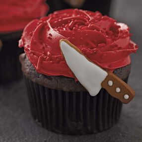 Bloody Cupcakes - Halloween Cupcakes