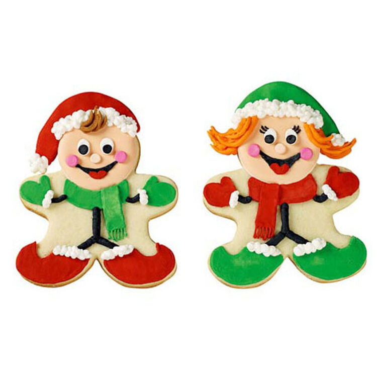 Smilin' in the Snow Cookies