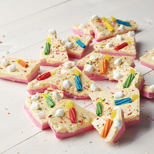 Birthday Party Candy Bark