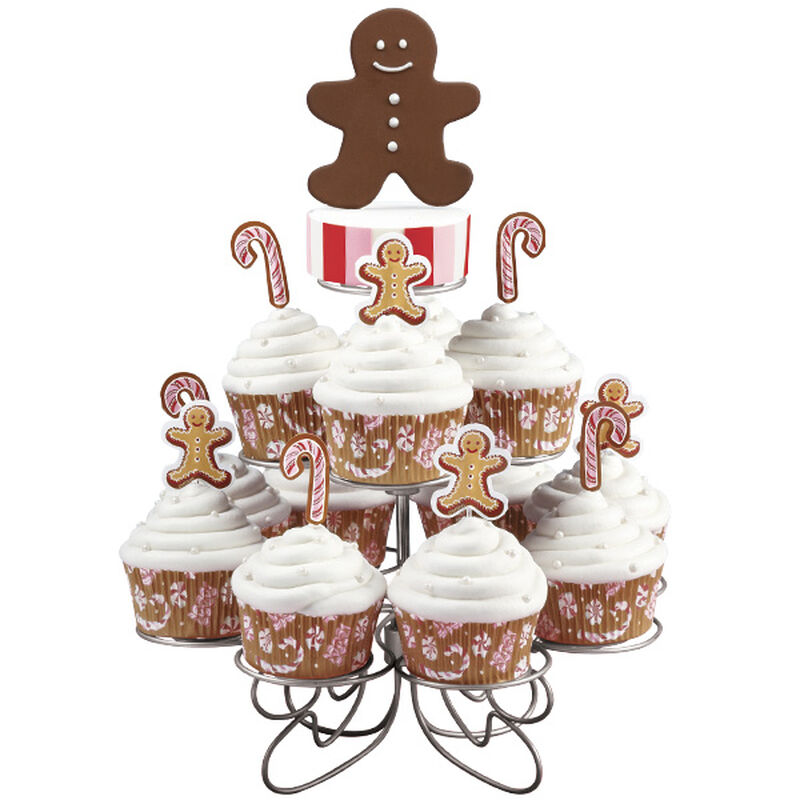 Jolly Gingerbread Holiday Cupcakes image number 0