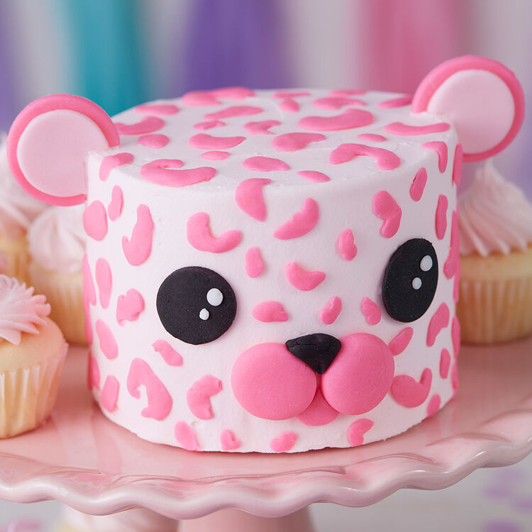 Wacky and Wild Leopard Mini Smash Cakes