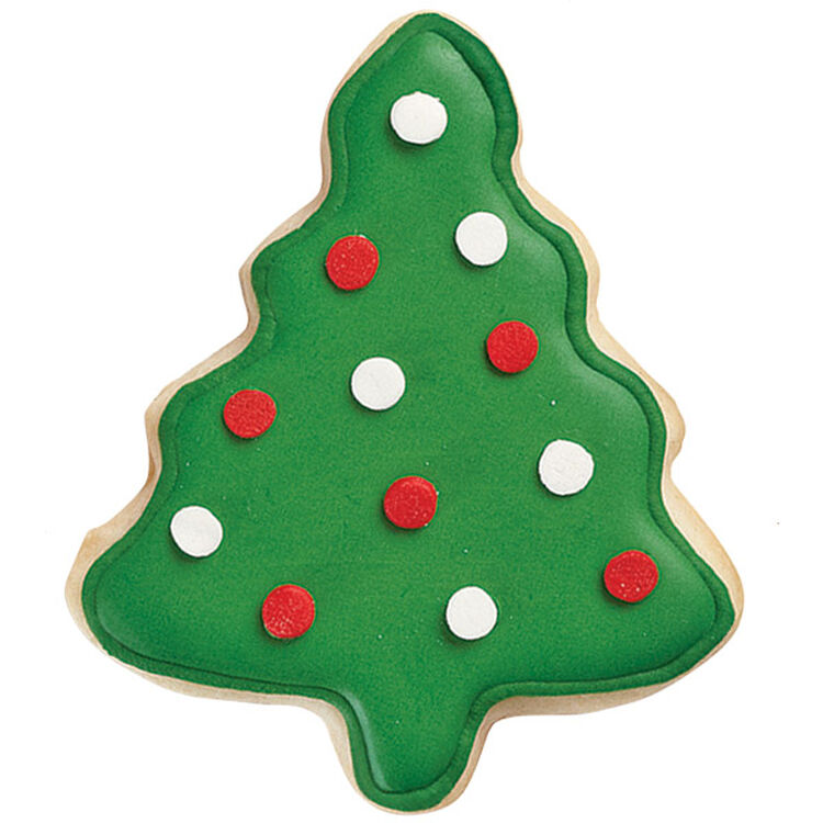 Best of the Season Tree Cookies