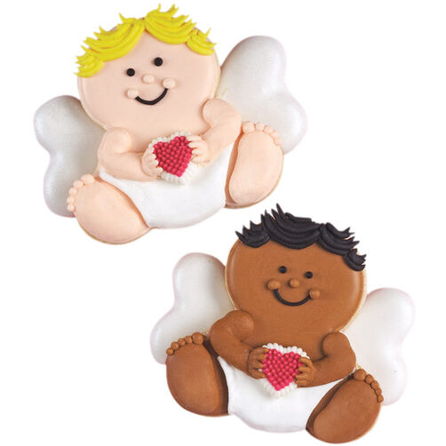 Amorous Angels Valentine's Day Cookies
