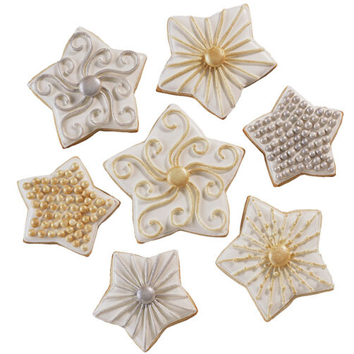 High-Style Stars Cookies