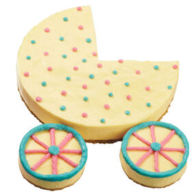 Baby Carriage Cheesecake