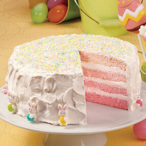Spring Ombre Layer Cake