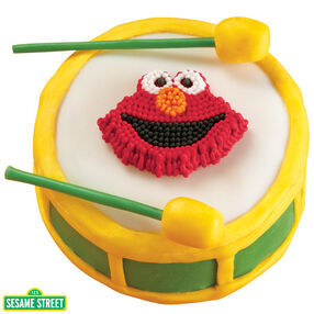 Elmo's Drum Roll! Mini-Cake