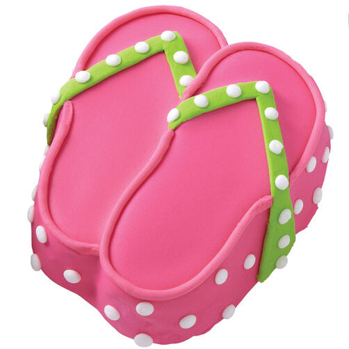 Flip-Flops for Everyone! Mini Cakes