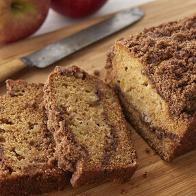 Fall Apple Cinnamon Loaf Recipe