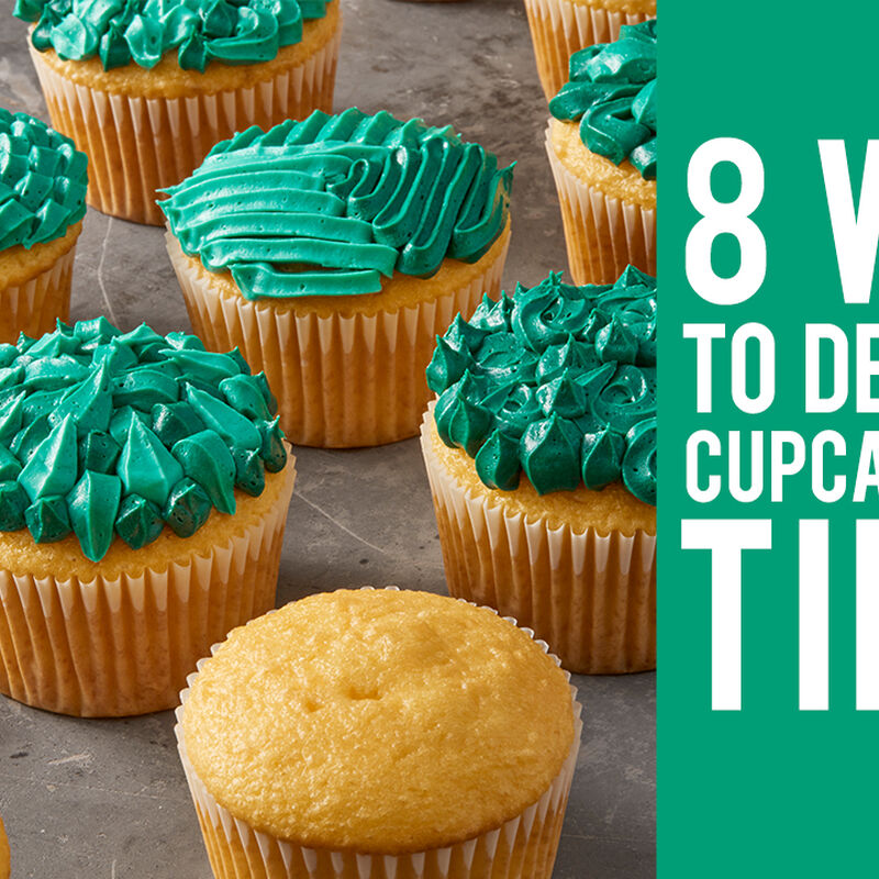 8 Ways to Decorate Cupcakes with Tip 83