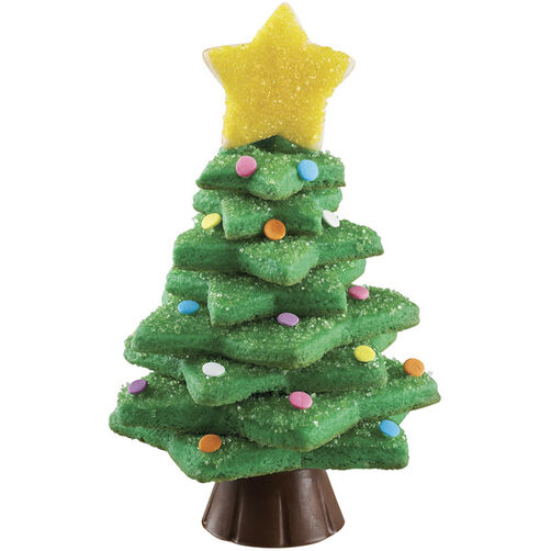 Stacked Christmas Tree Cookie