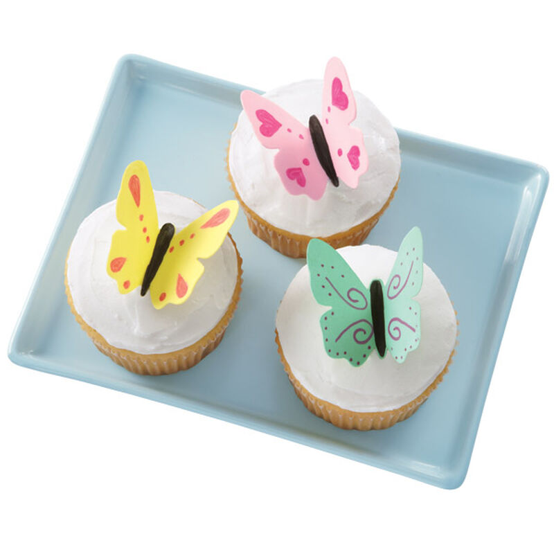 Flights of Fancy Butterfly Cupcakes image number 0