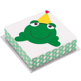 Hoppy Birthday Frog Cake