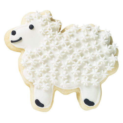 Lighthearted Lamb Cookie