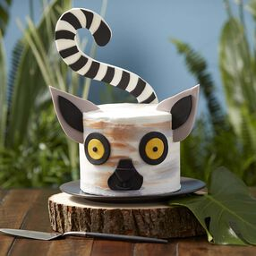 Wacky and Wild Lemur Cake