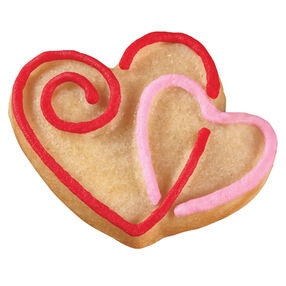Unbreakable Hearts Pan Cookies