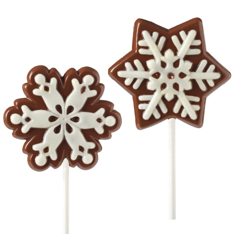Snowflake Lollipops image number 0