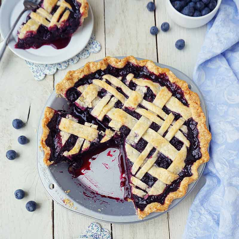 blueberry pie image number 1