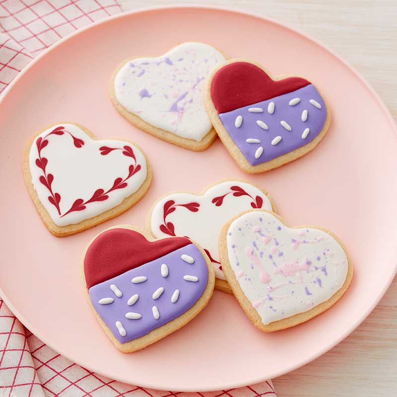 Valentine's Day Heart Sugar Cookies image number 2