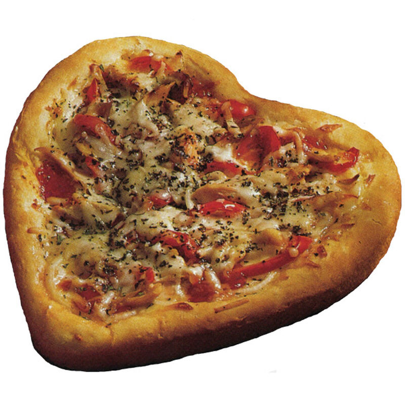 Heart Shaped Pizza Pies image number 0