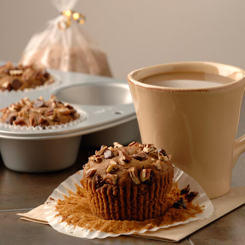 Cappuccino Chocolate Chunk Muffins