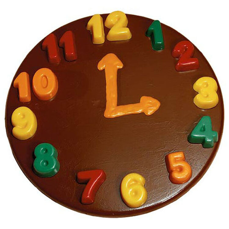 Telling Time Candy Plaque