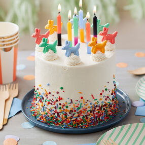 Sprinkle on the Fun Birthday Cake