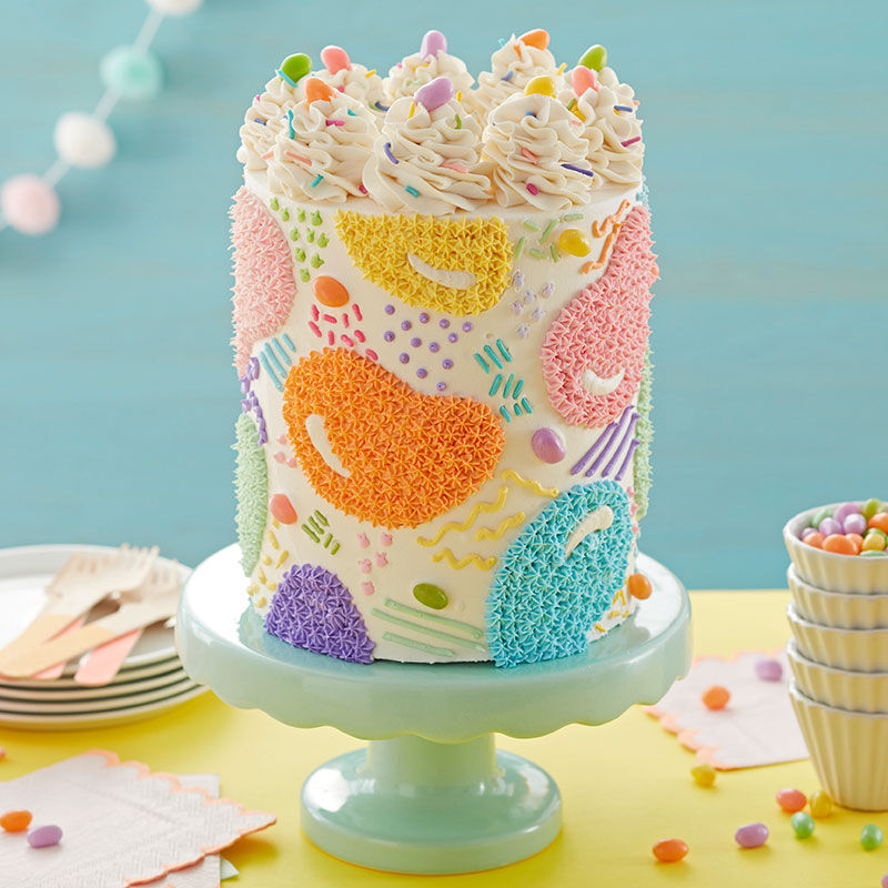 Star Fill-In Jellybean Cake image number 0