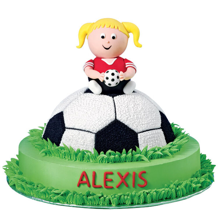 At the Top of Her Game Cake
